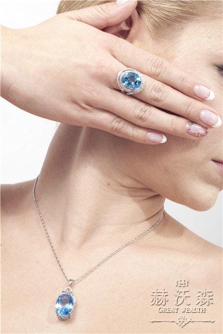 璐祎珠宝模特展示